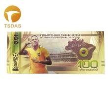 Хорошая россия банкноты 100 рубля банкнота в 24k позолоченные для сбора и подарка