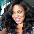 Бразильские Волосы Девственницы Glueless Объемной Волны Полный Шнурок Человеческих Волос парики Для Чернокожих Женщин Лучший Фронта Шнурка Человеческих Волос парики