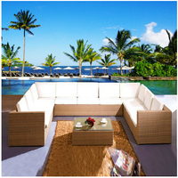 2016 PE ротанга диван с высокой доставленных садовая мебель новый дизайн мебель из ротанга уличная мебель гостиная чайный столик плетеный мяг