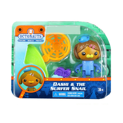 original Octonauts action figures Dashi & the supfer snail child Toys 6-8cm original octonauts octonauts marine animals creatures figures toy sea turtle urchin white tip shark child toys minifigures