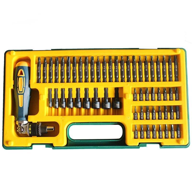 58 pz kit tool kit di riparazione auto S2 Viti Prese indurire repair tool oneri familiari strumento di servizio meccanico