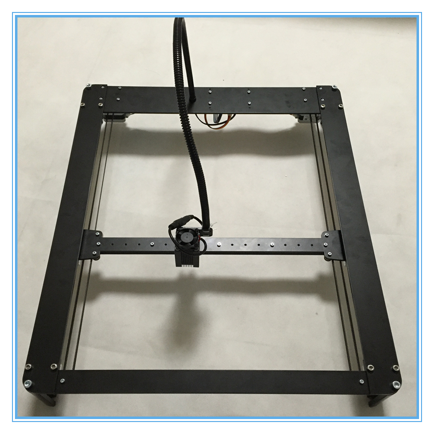 2016 New Laseraxe 5500mW DIY Hbot Desktop Mini Laser Engraver Engraving Machine Laser Cutter Etcher 30X40cm Adjustable Power  цены