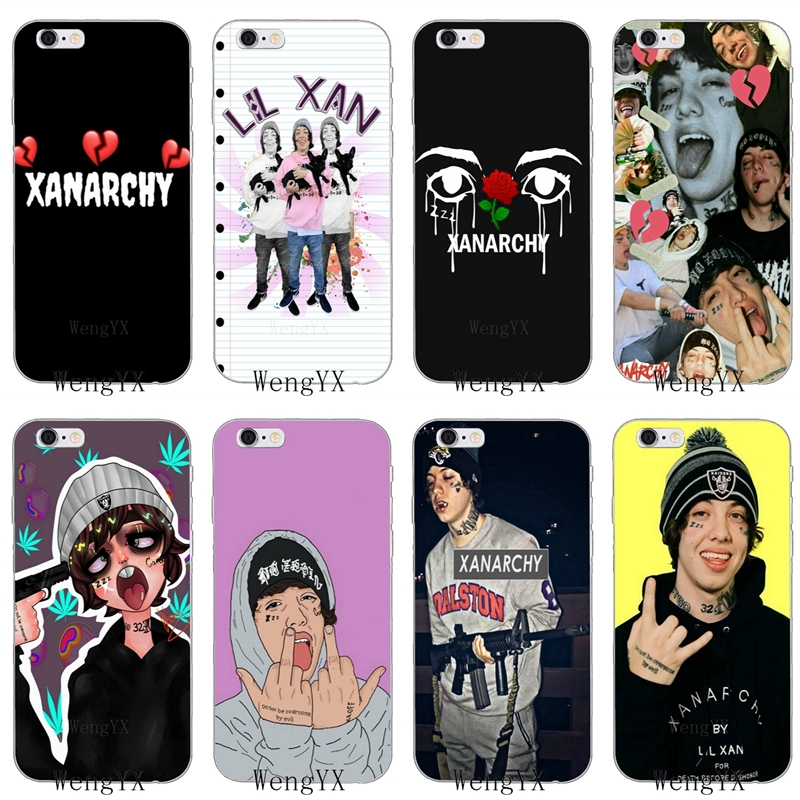 hipster hiphop rapper lil xan soft phone case for huawei honor 4c 5c 5x 6x v10