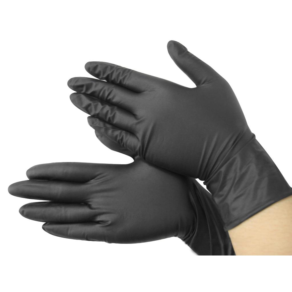 Black latex gloves xs - Best Disposable Mechanics Gloves