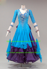 ballroom dance competition costumes Good Quality Unique style Smooth Ballroom Dress waltz dresses salsa dress