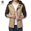 Men Jacket New Arrival Men's Fashion Business Jackets Spring & Autumn Men Jacket Male Casual Fashion Coats With Hat Hot Sale