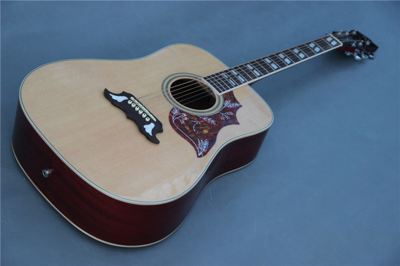 Glisten Nature Acoustic Electric Guitar With Fishman Pickup