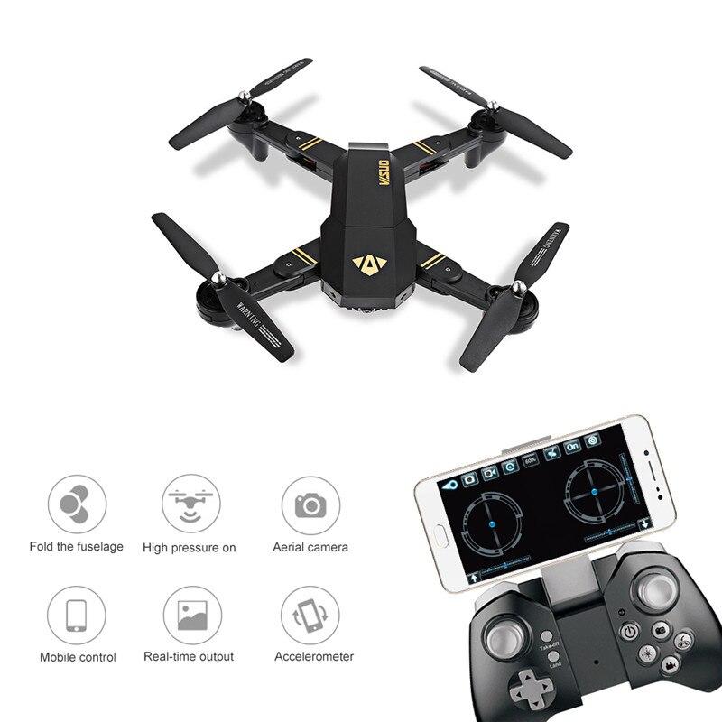 Plegable RC Drone, ToyPark XS809W Smartphone RC Quadcopter con - Juguetes con control remoto