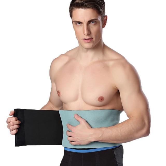 c27327071f Slimming Belt Belly Men Body Shaper Man Corset Abdomen Tummy Slimming  Shaperwear adjustable Waist Trainer Cincher Slim Girdle
