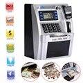 Giantree Simulatie ATM Besparing Banken ATM Spaarpot ATM Geld Veilig Dozen met Lcd-scherm Zilver Kids gift geld veilig doos
