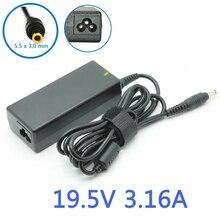 19 V 3.16A 60 W 5.5×3.0mm Alimentation AC Adaptateur pc portable chargeur pour Samsung R430 R440 R510 R480 R522 R530 R540 série