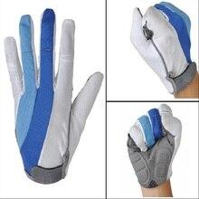 Bike Gloves Cycling Anti-slip Anti-sweat Men Women Whole Finger Breathable Anti-shock Sports MTB  Bicycle Glove