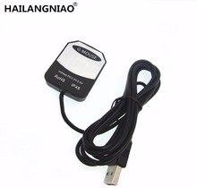 Ublox receptor GPS USB, dispositivo con chip gps, antena g mouse, reemplazo de BU353S4 VK 162