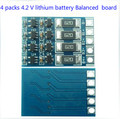 1 unids 4S Cadena 14.8 v 16.8 v Li-ion 18650 Batería Balance Board módulo de Carga