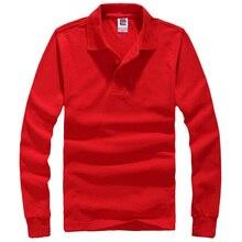 A estrenar del Polo camisa Hombre de cuello hombres moda Camisetas de manga larga Casual Camisetas Masculinas más el tamaño S-XXXL Polos sudaderas