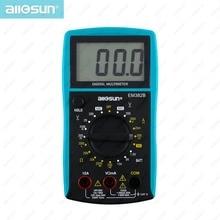 All-dom LCD Multímetro Digital DC/AC Voltímetro Batería Diodo Continuidad Tester EM382B nave de almacén de Europa Oriental