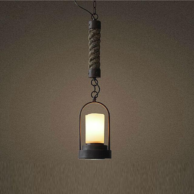 LED lampadario luce tradizionale con giù luce in ferro battuto ...