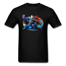 3D Cartoon Movie T-shirt For Men Black Tshirt How To Train Your Dragon T Shirts Toothless Cute Tops Tees Streetwear New Arrival