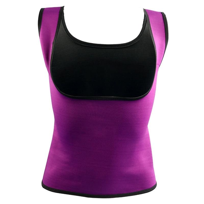 Plus Size Neoprene Sweat Sauna Hot Body Shapers Vest Waist Trainer Slimming Vest Shapewear Weight Loss Waist Shaper Corset Hot 2