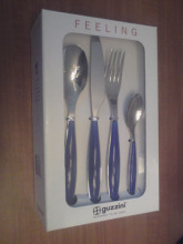 0 Guzzini knife and fork spoon 24 piece set western knife and fork tableware kit