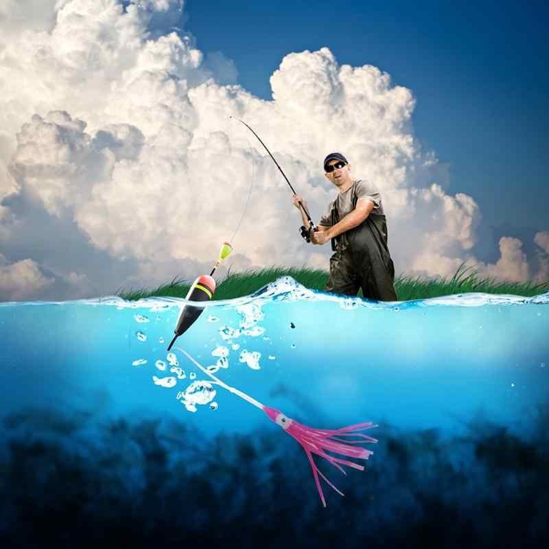 """Новинка 2 г/8 см мягкая розовая наживка """"осьминог"""" полый кальмар юбка искусственная приманка рыболовные снасти для карпа рыболовные аксессуары"""