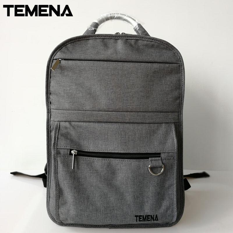 Temena High Quality Laptop Backpack Women Mochila Anti-theft Backpack School Bags for Teenagers Bookbag Casual Travel BagABP401A