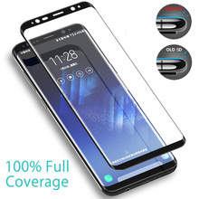 6D Full Curved Screen Protector Tempered Glass For Samsung Galaxy S10 S9 S8 Plus Tempered Glass For Samsung Note 9 8 S7 S6 Edge все цены