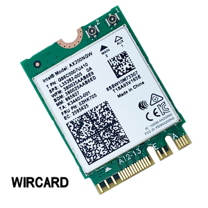 Image 2 - بطاقة WIRCARD لثنائي النطاق AX200 2400Mbps لاسلكي AX200NGW NGFF M.2 بلوتوث 5.0 بطاقة شبكة Wifi 2.4G/5G 802. 11ac/ax