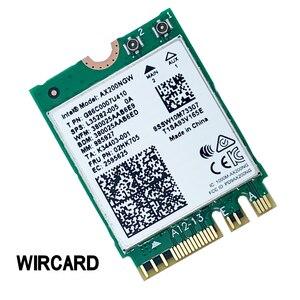 Image 2 - WIRCARD ללהקה כפולה AX200 2400Mbps אלחוטי AX200NGW NGFF M.2 Bluetooth 5.0 Wifi רשת כרטיס 2.4G/5G 802. 11ac/ax