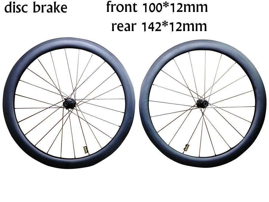 2019 T1000 UD 3K 700C 38mm 50mm 60mm 88mm depth disc brake carbon road bike wheels