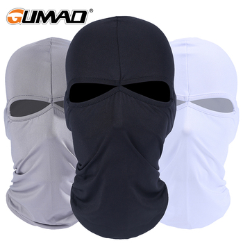 Two Holes Lycra Cycling Full Face Mask Balaclava Sport Ski Biker Bicycle Hood Airsoft Hiking Outdoor Fishing Face Shield Hat Cap face mask