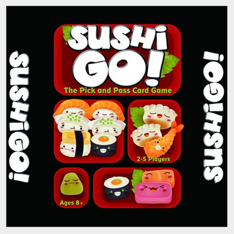 Childrens educational toys parent-child sushi go! Sushi Dog board game cards Popular Family Game
