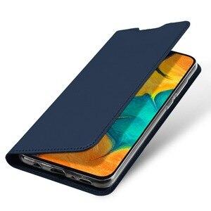 Image 4 - DUX DUCIS Flip Leather Case For Samsung Galaxy A30 A50 A40 Wallet Book Cover for Samsung A30 A50 A70 A20 A20e A10 A10S A40 2019