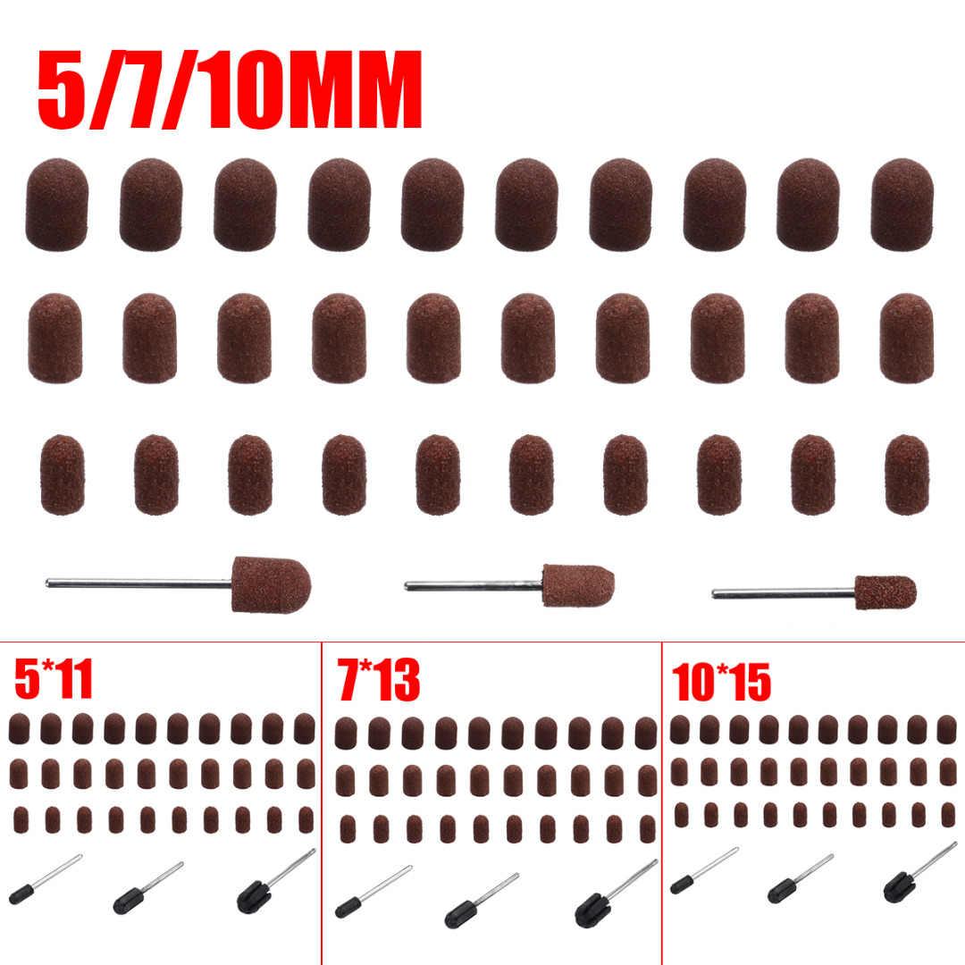 10 pièces foret à ongles embouts de ponçage coupeurs pour pédicure manucure électrique enlever callosités accessoires de polissage outils abrasifs