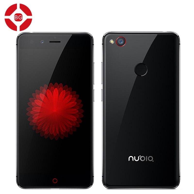 "Цена за Оригинал zte nubia z11 mini отпечатков пальцев окта ядро 16.0mp 5.0 ""мобильный Телефон Android 5.1 Snapdragon 617 3 ГБ 64 ГБ NeoVision 5.8"