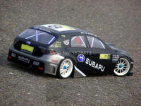 S038 SUBARRU 1 10 1 10 PVC Painted Body Shell For 1 10 RC Hobby Racing