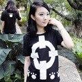 Una sola pieza t shirt hombres mujeres colthing 12 estilos de la camiseta luffy / ley / chopper anime cosplay verano camisetas y Tops de vestir