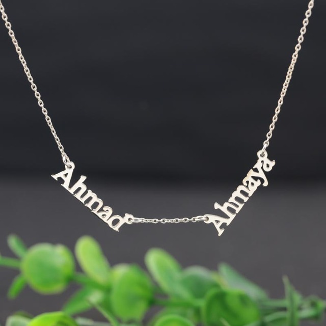 customised jumbo ie pendant mynamenecklace necklace product tag name