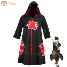 цена на Procosplay Taka / Hebi Red cloud printed cloak Leader Sasuke Cosplay costume Cape Naruto cosplay costume mp000338