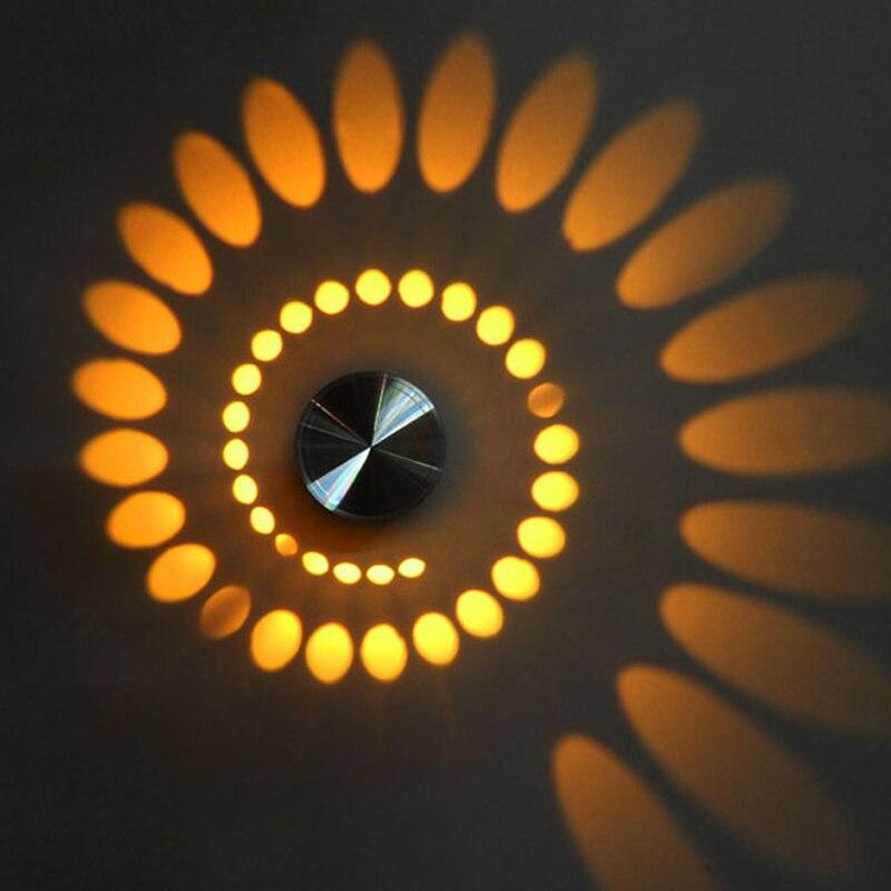 Современный стиль светодиодный настенный светильник бра Освещение в помещении приспособления для бар светильник Задний план Лампы для мотоциклов Рождество Новый год украшения