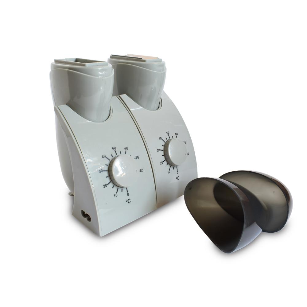 110-240V Depilatory Wax Heater Roll Hot Hair Removal Warmer Double Depilation Body Waxing Machine Beauty Hand