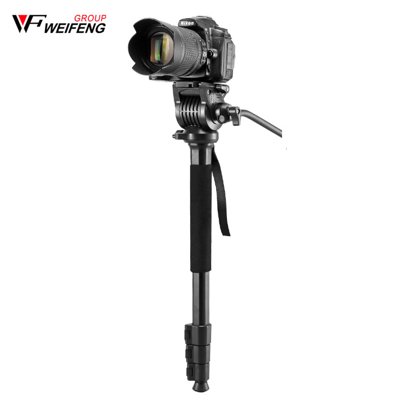 Tripod Weifeng 3978M Camera Monopod Tripods Portable Travel Aluminum Camera Tripod For For SLR DSLR Digital Camera benro a35fbr1 original tripod for slr camera reflexum professional tripod aluminum tripod functional monopod climbing stick