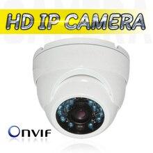 "IP Camera Onvif 1/4 ""CMOS Metal IR Dome 1.0MP HD Indoor Home Security 720P Infrared 20m Night Vision IP CCTV Camera Camara IP"