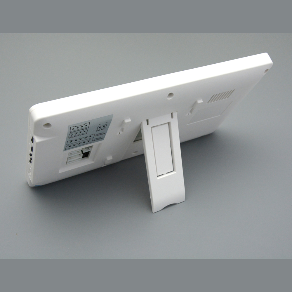"Купить с кэшбэком Video Doorbell 7"" Color LCD Screen Two-way Talk Hands-free Door Phone 1 Camera 1 Monitor Intercom Kit Waterproof IR Night Vision"