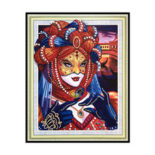 5D special beauty pattern diamond painting image DIY embroidery European style home decoration 40x50 cm