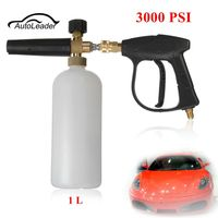 Auto Washer For Foam Lance Snow High Pressure Gun Bottle Car Foamer Wash Quick Adapter Jet