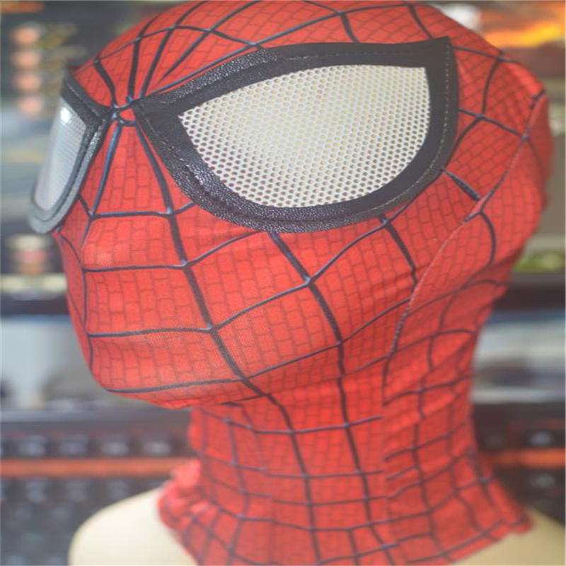 Ainiel Homecoming <font><b>Spiderman</b></font> Cosplay Costume Accessory Halloween Fantasy spider man Cosplay Mask for <font><b>Adult</b></font>