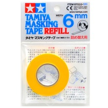 Tamiya  87033 Model Masking Tape Refill For 87030 Width 6mm Length 18m Model Hobby Painting Tools Accessory TTH