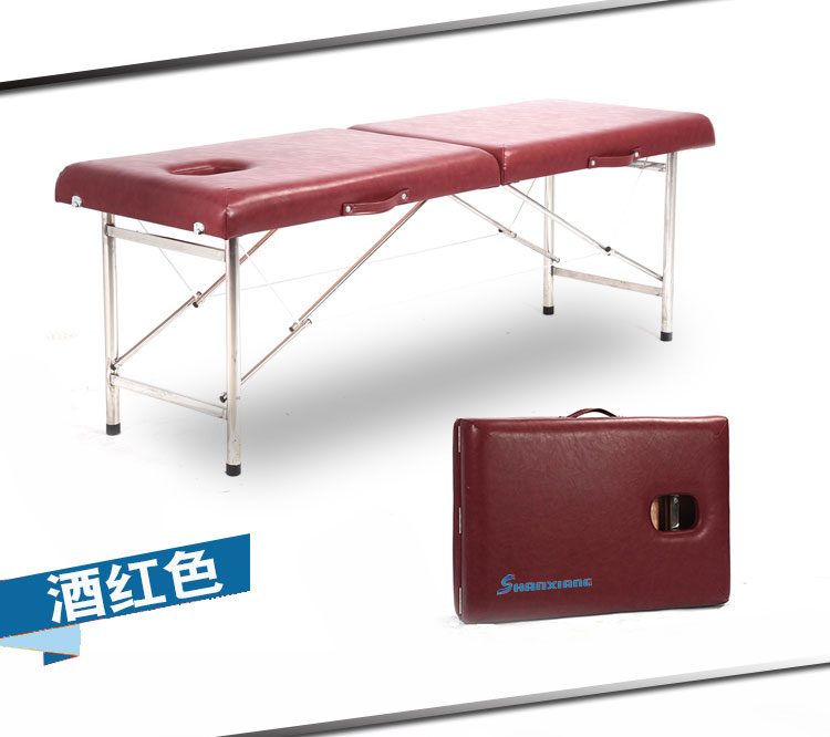 Professional Folding Portable Spa Massage Tables Suitable For Massage 10