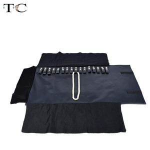 Blue Navy Leather Jewelry Stor